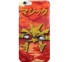 Alakazam Print iPhone Case/Skin