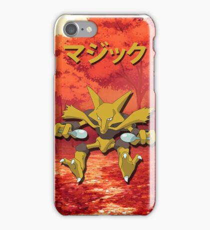 Alakazam Print iPhone Case/Skin