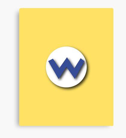 Wario's Emblem Canvas Print