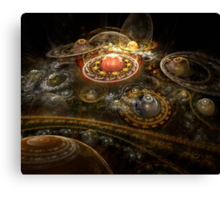 I Dream In Fractals Canvas Print