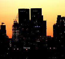 Sunrise Manhattan by pmarella