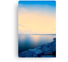 Sunrise on Ottawa River Canvas Print