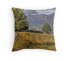 Mt Roland: Tasmania Throw Pillow