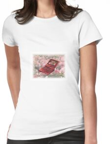 Rose Gameboy Womens Fitted T-Shirt