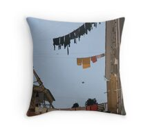 Out to Dry Throw Pillow