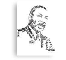 Dr. King Metal Print