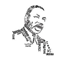 Dr. King Photographic Print