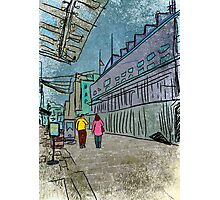 Long Road Goodbye (South Street Seaport) Photographic Print