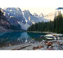 Lake Moraine – Banff National Park, Alberta, Canada Photographic Print