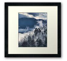 Beautiful Smoke 2 Framed Print