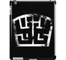SOLDIER white grunge iPad Case/Skin
