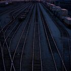 Tracks Into The Sunset by jeremybrooks