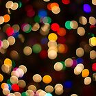 Holiday Bokeh 2 by Karen Stevens