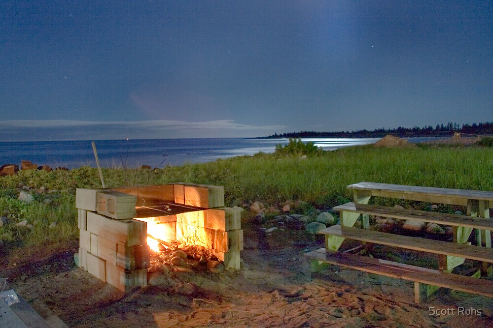 The Fire Pit by Scott Ruhs