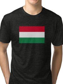 Hungary flag Tri-blend T-Shirt