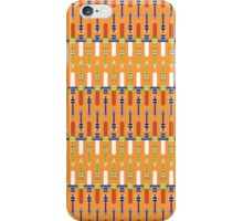 master swords and silver arrows pattern iPhone Case/Skin