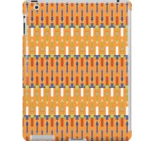master swords and silver arrows pattern iPad Case/Skin