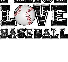 Peace, Love, Baseball by mralan