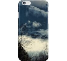 Clouds in the Smokies iPhone Case/Skin