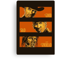 The Western Dead Canvas Print