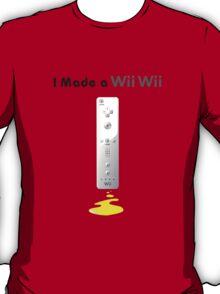 I made a Wii Wii T-Shirt