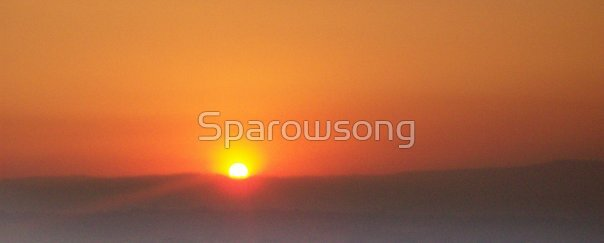 Sky in Orange by Sparowsong