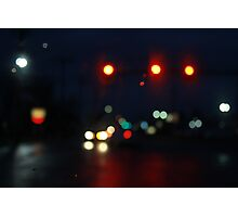 City Lights In The Mourning Photographic Print