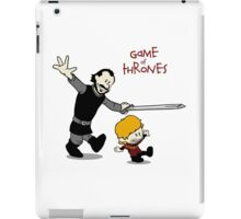 Tyrion and Bronn- Game of Thrones Shirt iPad Case/Skin