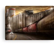 Oil or Food Canvas Print