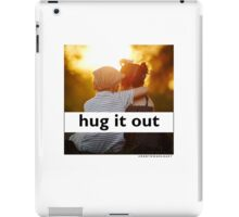 Hug It Out iPad Case/Skin