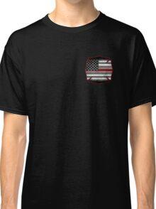 Thin Red Line - Fire Cross Classic T-Shirt