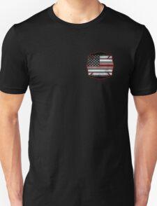 Thin Red Line - Fire Cross T-Shirt