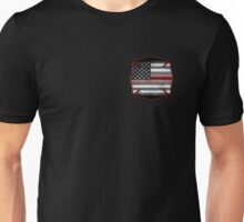 Thin Red Line - Fire Cross Unisex T-Shirt