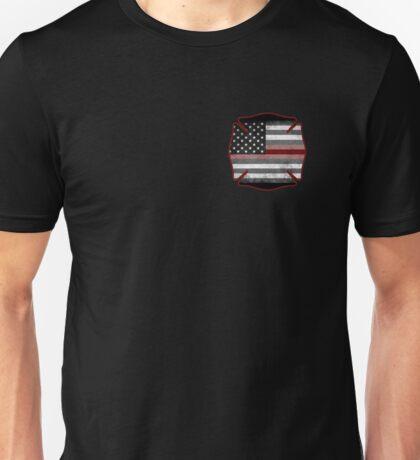 Thin Red Line - Fire Cross Unisex T-Shirt