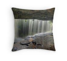 Behind the Falls 2 Throw Pillow