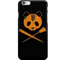 Panda Skull- SF Giants iPhone Case/Skin