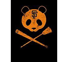 Panda Skull- SF Giants Photographic Print