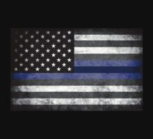 The Thin Blue Line - American Police Officer Kids Clothes