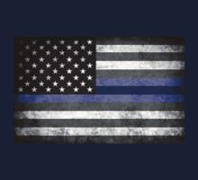 The Thin Blue Line - American Police Officer Baby Tee