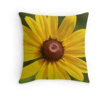 open flower Throw Pillow