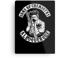 Sons of Chemistry- Breaking Bad Shirt Metal Print