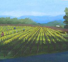Tying Vines by Cyndianne