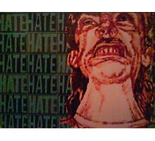 Hate Photographic Print