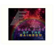 Dark Side of the Rainbow (Colts 2014) Art Print