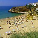 Albufeira Beach IV by Tom Gomez
