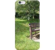 Garden of Tranquility iPhone Case/Skin