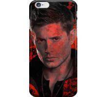 Splatter Dean Winchester iPhone Case/Skin