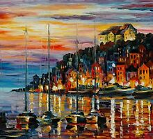 Beautiful Afremov Painting by frankgeorge