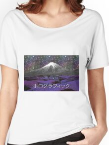 Holographic Laptop Skin Women's Relaxed Fit T-Shirt