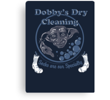Dobby's Dry Cleaning- Harry Potter Canvas Print